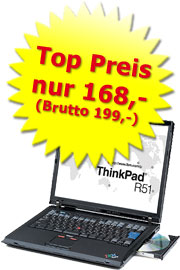 Notebook gebraucht Lenovo ThinkPad R51