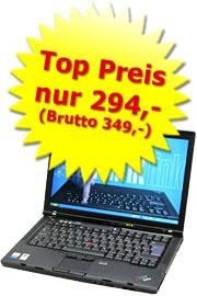 Laptop gebraucht Lenovo ThinkPad T60