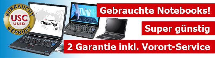 Gebrauchte Notebooks! Super günstig - 2 Garantie inkl. Vorort-Service