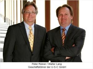 USC Geschäftsführer Peter Reiner Walter Lang
