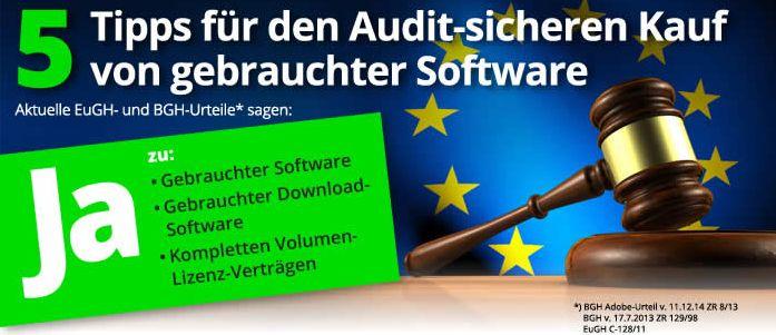 software gebraucht kaufen legal