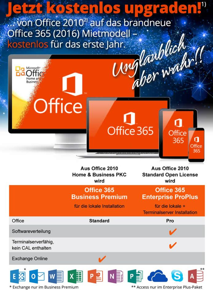 Kostenloses-Office365-Upgrade