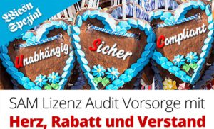 Software Asset Management (SAM) mit Wiesn-Rabatt