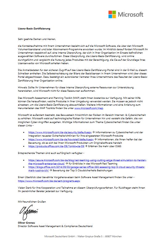 Lizenz-Basis-Zertifizierung-pdf – Gebrauchte Software U-S-C