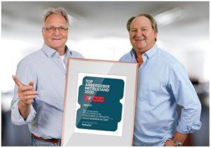 Focus- und Kununu-Wahl: CCS 365 ist Top Arbeitgeber Mittelstand 2020!