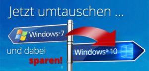 windows7 auf win 10