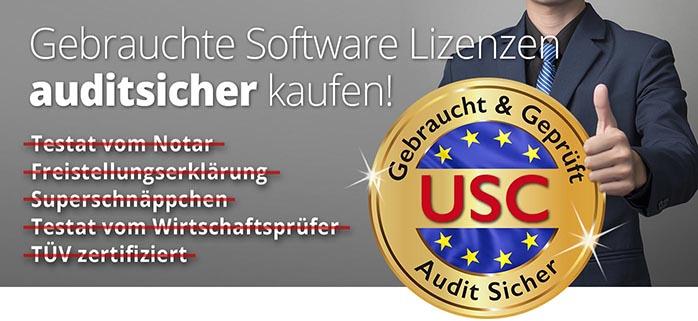 Gebrauchte Software auditsicher kaufen